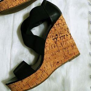 🔥Steve Madden Cork Wedge Sandal 8.5